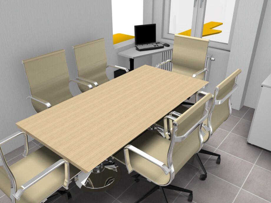 Progetto TMC GROUP TAV.02.01 - SLIDE 08 180X100 legno