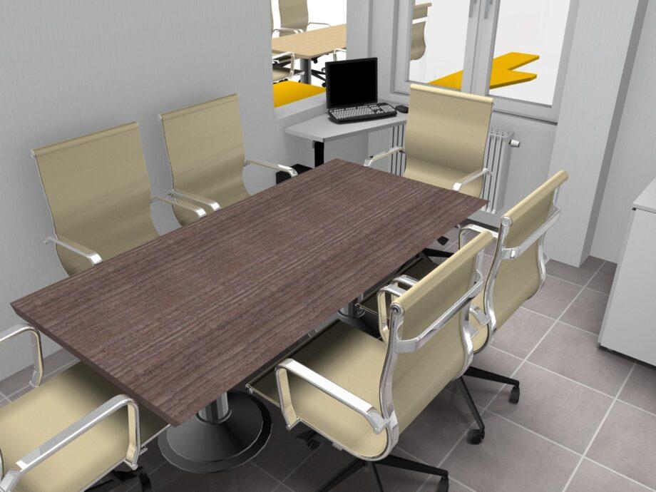 Progetto TMC GROUP TAV.02.01 - SLIDE 09 180X100 legno rettangolare