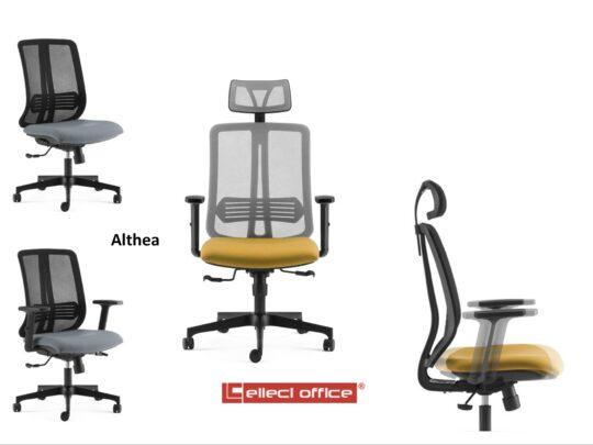 Selezione di sedie per ufficio operative #01