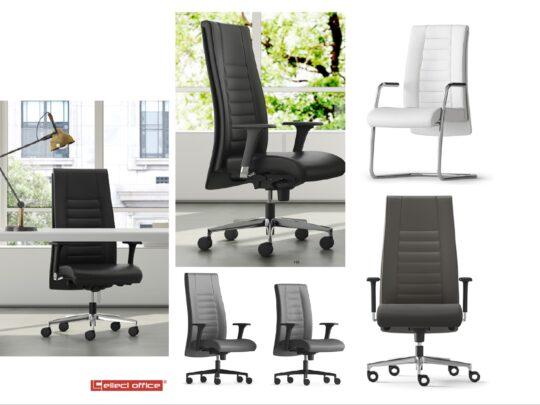 Selezione di sedie per ufficio direzionali #01