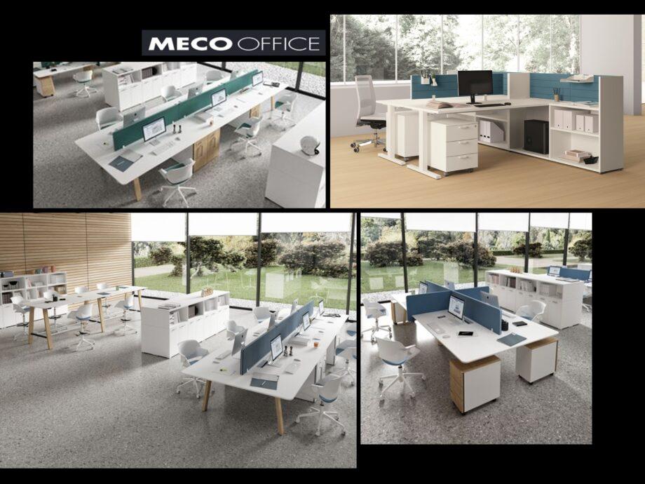 Esempio di composizione arredamento ufficio operativo #01