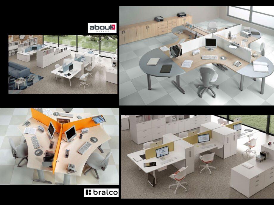 Esempio di composizione arredamento ufficio operativo #02