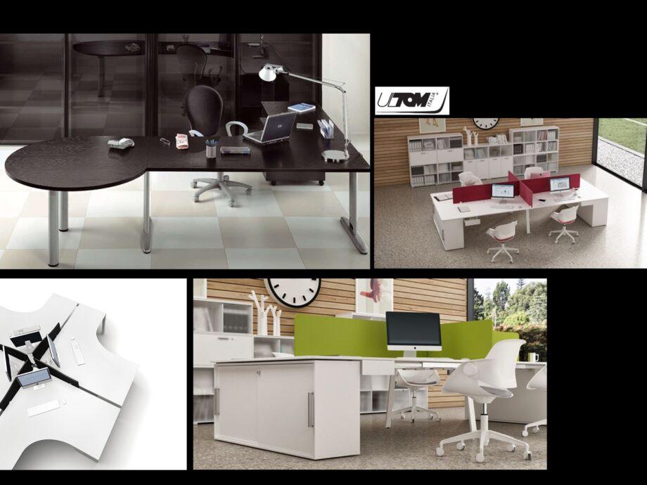Esempio di composizione arredamento ufficio operativo #03