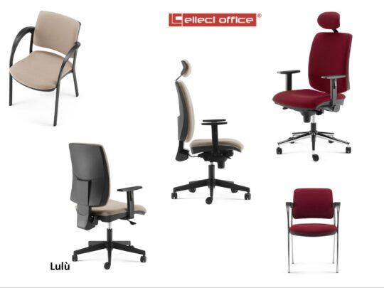 Selezione di sedie per ufficio operative #04