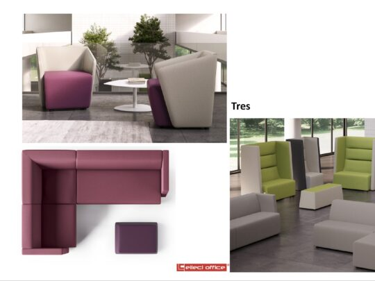 Selezione di sedie per ufficio visitatore e comunità #04