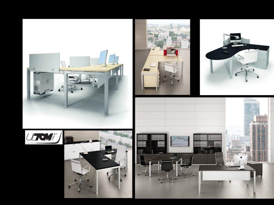 Esempio di composizione arredamento ufficio operativo #05