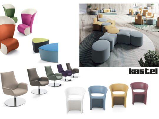 Selezione di sedie per ufficio visitatore e comunità #07