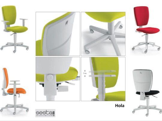 Selezione di sedie per ufficio operative #08