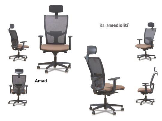 Selezione di sedie per ufficio operative #09