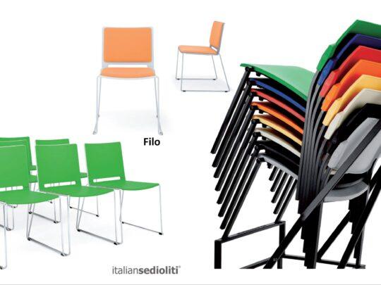 Selezione di sedie per ufficio visitatore e comunità #11