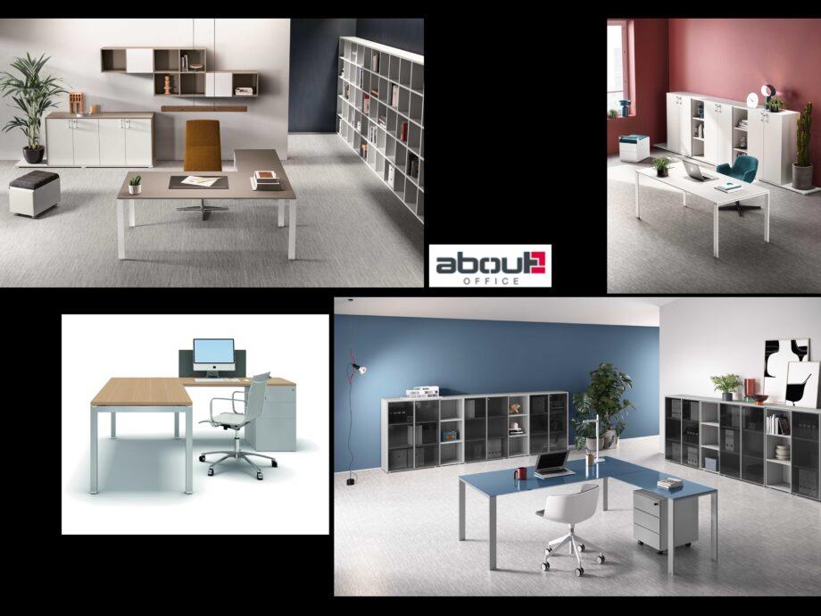 Esempio di composizione arredamento ufficio operativo #11