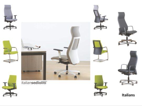 Selezione di sedie per ufficio direzionali #12