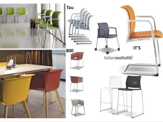 Selezione di sedie per ufficio visitatore e comunità #13