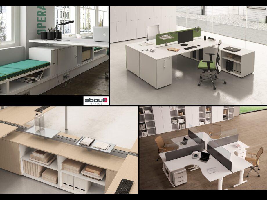 Esempio di composizione arredamento ufficio operativo #13