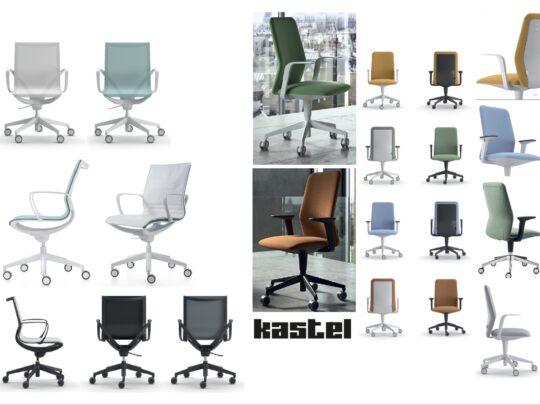 Selezione di sedie per ufficio operative #15