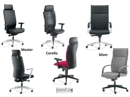 Selezione di sedie per ufficio direzionali #15