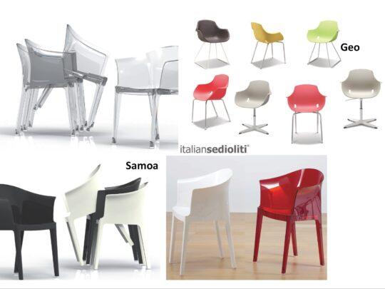 Selezione di sedie per ufficio visitatore e comunità #15